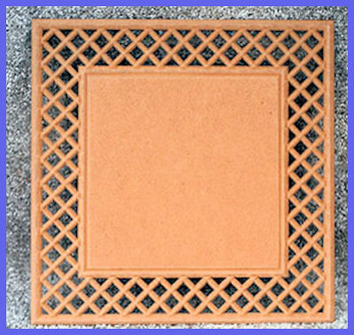 LW - Square Lattice Frame Plaque (1100) - Painter\'s Paradise